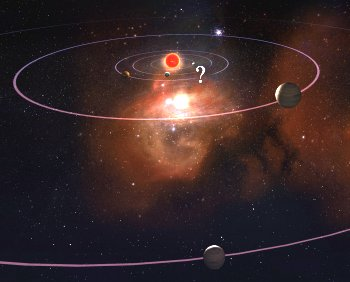 Artist's impression of star system